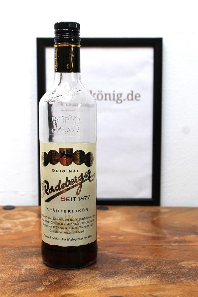 Original Radeberger Kräuterlikör
