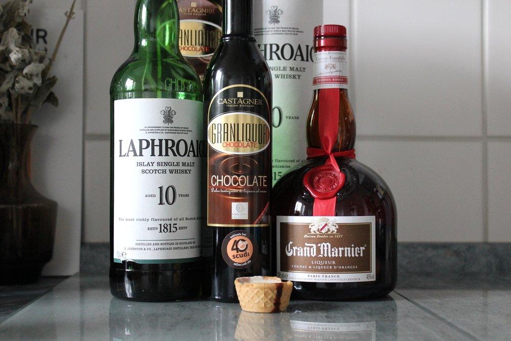CASTAGNER Granliquor Chocolate & der Treviso in Ashes